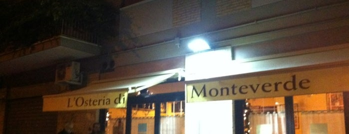 L'Osteria di Monteverde is one of Rome.