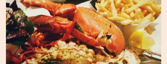 Burger & Lobster is one of BarChick's Best Food.