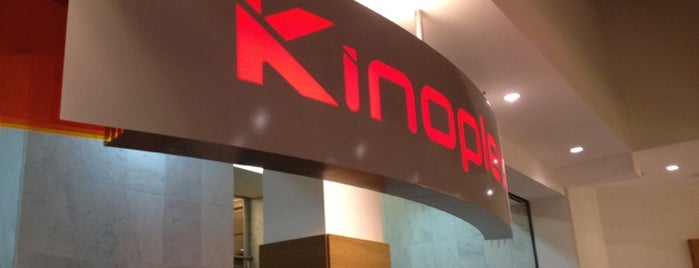 Kinoplex is one of Locais curtidos por Gabriel.