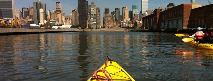 Long Island City Boathouse is one of Best Water Activities in and around New York City.