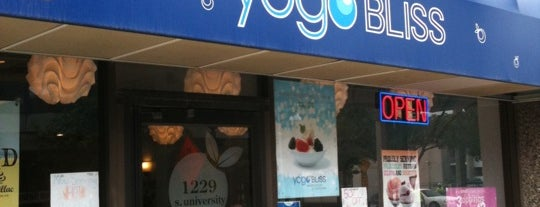 Yogo Bliss is one of Ann Arbor Delivery.