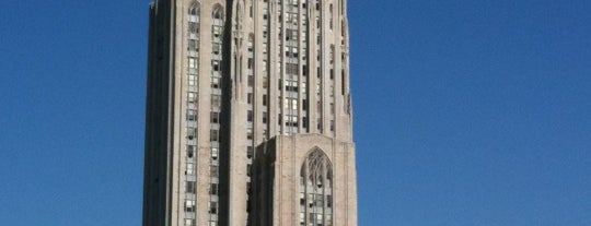 University of Pittsburgh is one of College Love - Which will we visit Fall 2012.