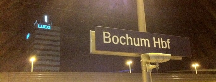Bochum Hauptbahnhof is one of Bochum #4sqcities.