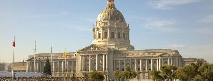 San Francisco City Hall is one of Great City By The Bay - San Francisco, CA #visitUS.