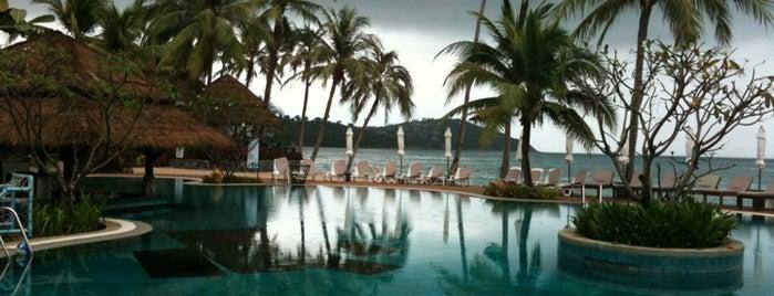 Nora Beach Resort & Spa is one of สถานที่ที่ Kenneth ถูกใจ.