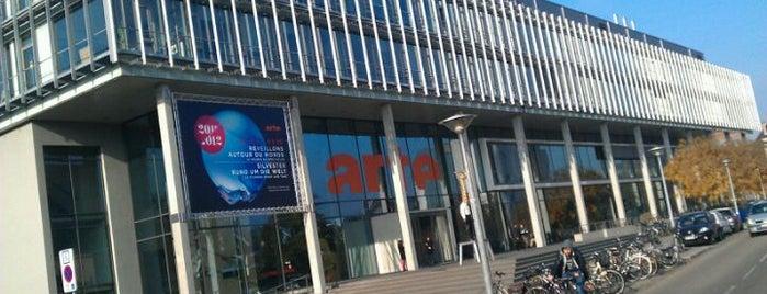 ARTE is one of Strasbourg.