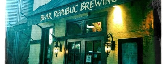 Bear Republic Brewery is one of Breweries.