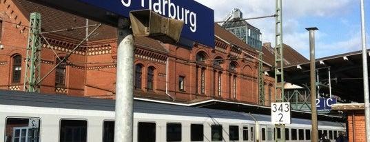 Bahnhof Hamburg-Harburg is one of Bahnhöfe besucht !.
