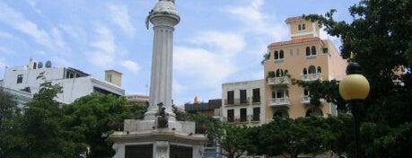 Plaza Colón is one of ♪ En Mi Viejo San Juan ♫.