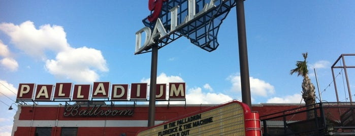 South Side Ballroom is one of Dallas music venues.