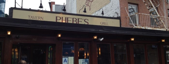 Phebe's is one of NYC bars.