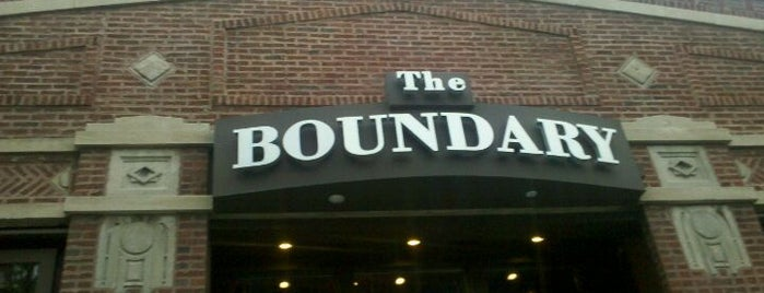 The Boundary is one of Drink.