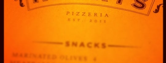 Harry's Pizzeria is one of MIA/16.