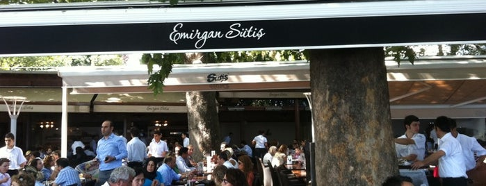 Emirgan Sütiş is one of Guide to İstanbul's best spots.