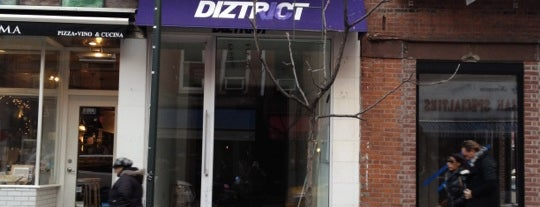 Diztrict is one of Ny.