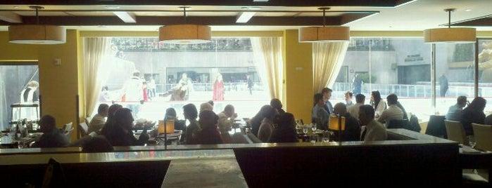 Rock Center Cafe is one of Rockefeller Center.