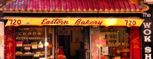 Eastern Bakery is one of Lugares favoritos de David.