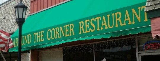 Around the Corner is one of OKC/Edmond Lunch Spots.
