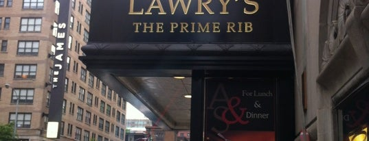 Lawry's The Prime Rib is one of Chicago.