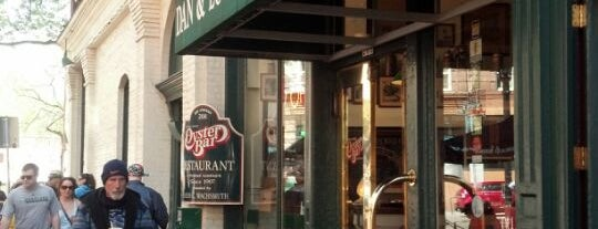 Dan & Louis Oyster Bar is one of Pacific Old-timey Bars, Cafes, & Restaurants.