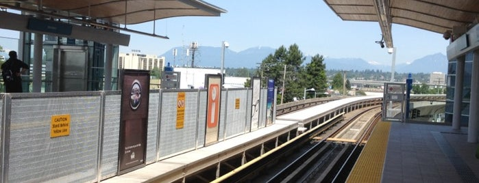 Aberdeen SkyTrain Station is one of Translink Champion Badge.