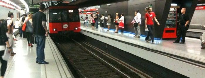 METRO Sant Andreu is one of สถานที่ที่ Watashi ถูกใจ.