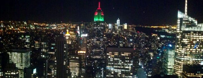Top of the Rock Observation Deck is one of Fun Places in NYC Metro-Area.