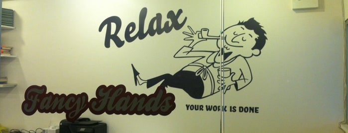 Fancy Hands is one of Silicon Alley, NYC (List #2).