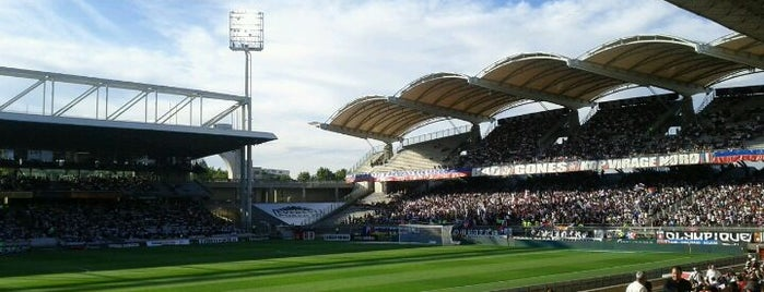 Matmut Stadium Gerland is one of France II.
