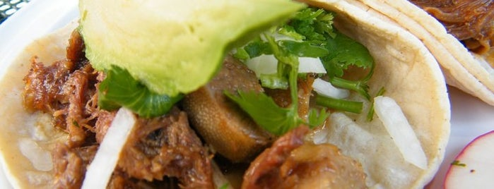Taqueria Distrito Federal is one of ♥ Columbia Heights / Mt. Pleasant.