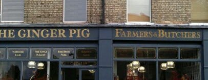 The Ginger Pig is one of London Food.