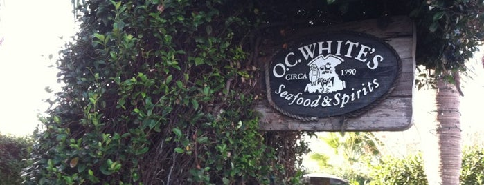 O.C. White's is one of St Augustine Florida.