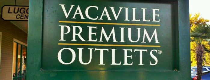 Vacaville Premium Outlets is one of San Francisco.