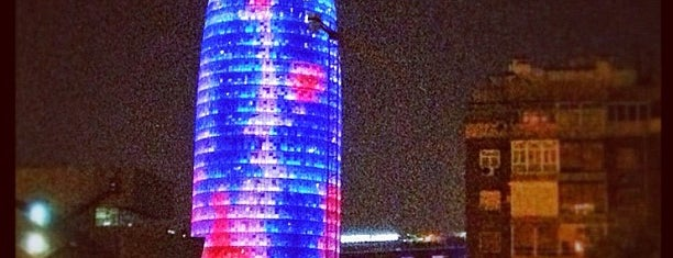 Torre Agbar is one of Best views in Barcelona.