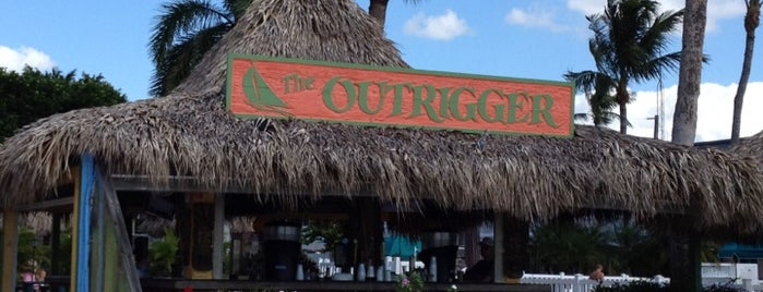 Outrigger Tiki Bar is one of Island Bars.