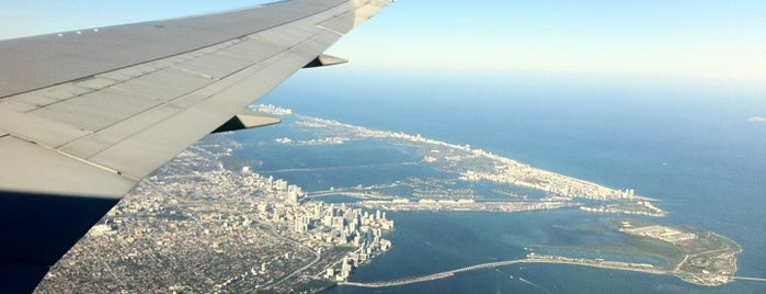 Miami International Airport (MIA) is one of Alicia's Top 200 Places Conquered & <3.