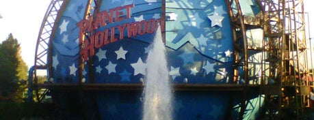 Planet Hollywood is one of My vacation @Orlando.