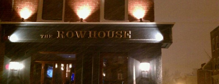 The Rowhouse Grille is one of Federal Hill Tour.