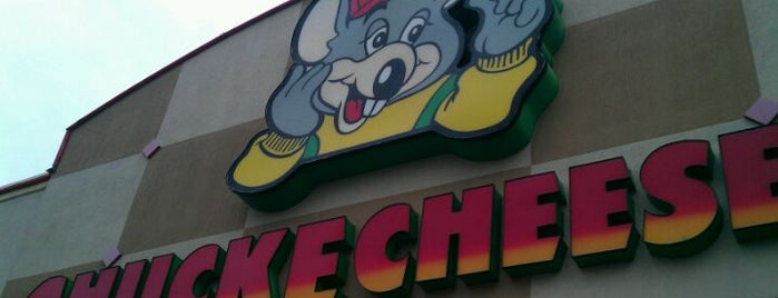 Chuck E. Cheese is one of Guide to Clarksville's best spots.