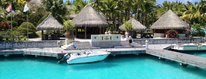 The St. Regis Bora Bora Resort is one of Beautiful places.