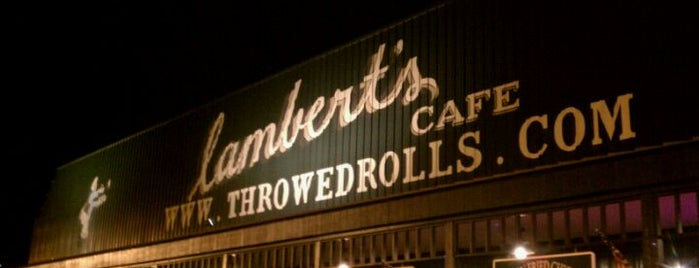 Lambert's Cafe is one of Steven's Liked Places.