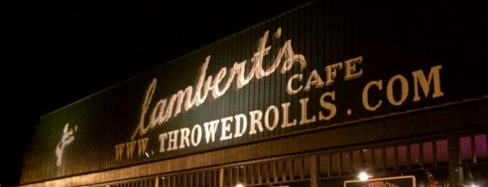 Lambert's Cafe is one of Lieux qui ont plu à Steven.