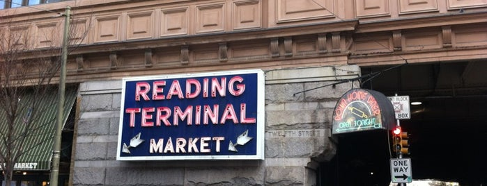 Reading Terminal Market is one of Badge of Brotherly Love #visitUS.