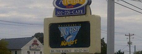 Arena's Cafe is one of The Delaware Beaches.