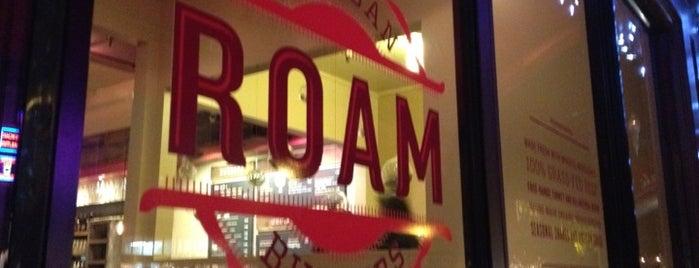 Roam Artisan Burgers is one of Kenny's Favorite San Francisco Restaurants.