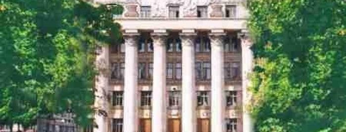 КНЕУ / Київський національний економічний університет ім. В. Гетьмана is one of mesta.