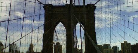Бруклинский мост is one of NYC.