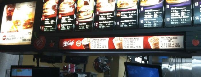 McDonald's is one of สถานที่ที่บันทึกไว้ของ Ashley.