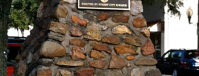 Forest City, NC is one of MYMU mountains.