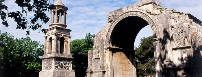 Glanum is one of Urlaub mit dem Mietwagen: Provence.